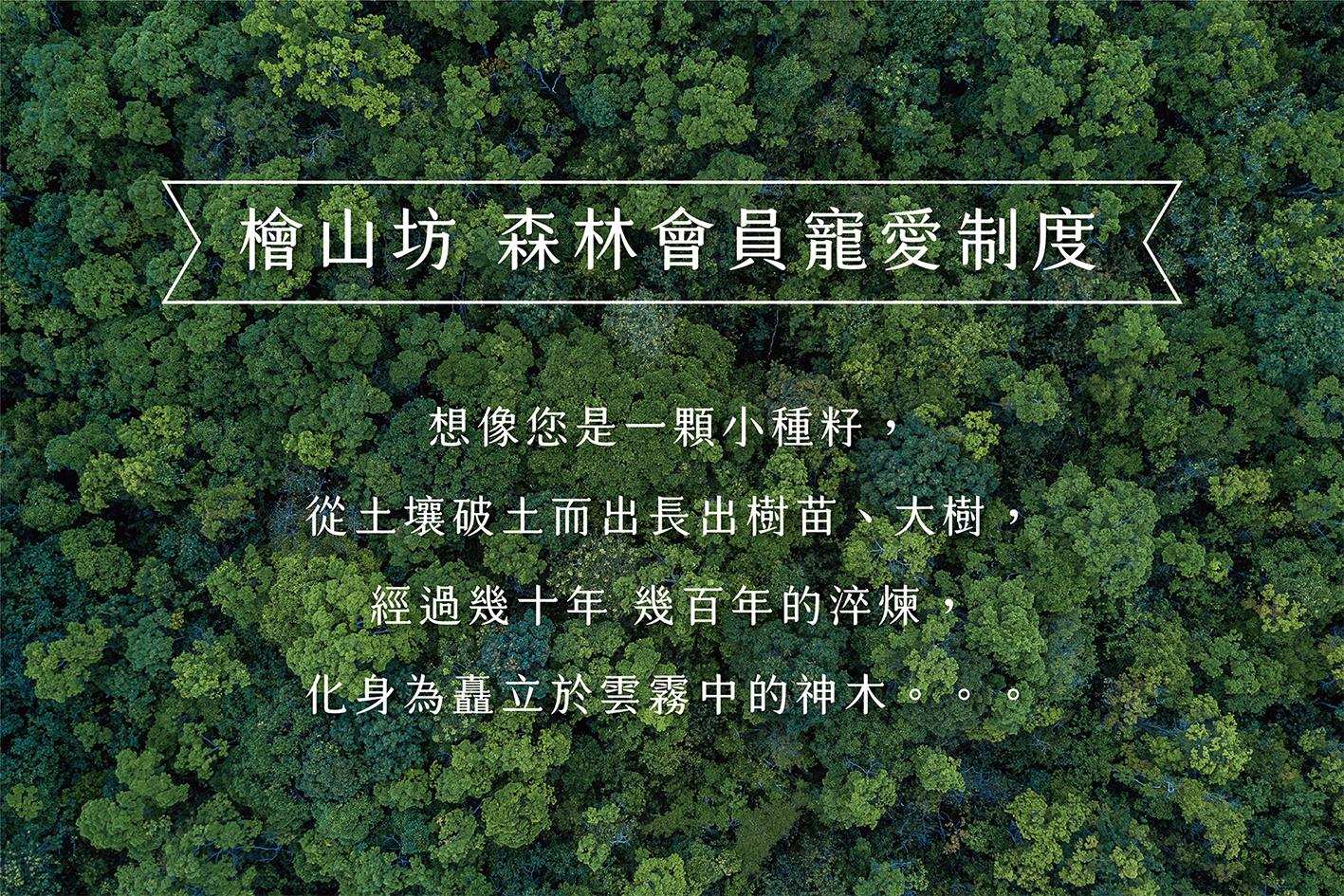 森林會員寵愛制度